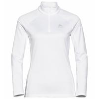 Women's PROITA 1/2 Zip Midlayer, white melange, large
