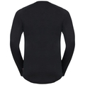 CONCORD Baselayer, black - explore print SS19, large