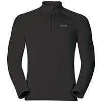 Midlayer 1/2 zip SNOWBIRD, black, large