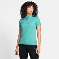 Women's CARDADA Polo Shirt, jaded, large