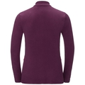 Midlayer full zip BERGEN, pickled beet, large