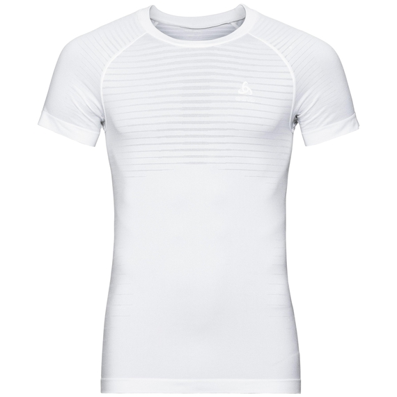 PERFORMANCE LIGHT-basislaag-T-shirt voor heren, white, large