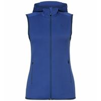 HOODIE STRETCH FLEECE Weste, mazarine blue, large