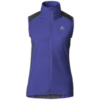 ZEPTO Vest, spectrum blue - odlo graphite grey, large