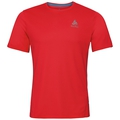 BL TOP Crew neck s/s SLIQ, fiery red, large