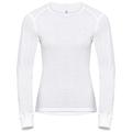 T-shirt technique manches longues ACTIVE WARM pour femme, white, large