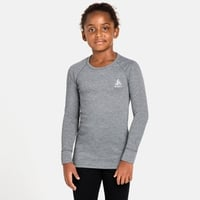 Tee-shirt technique à manches longues ACTIVE WARM ECO KIDS pour enfant, grey melange, large