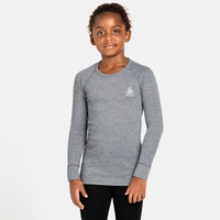 ACTIVE WARM ECO KIDS Baselayer-Oberteil, grey melange, large