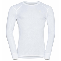 Herren ACTIVE WARM ECO Baselayer-Oberteil, white, large