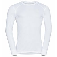 Men's ACTIVE WARM ECO Long-Sleeve Baselayer Top, white, large