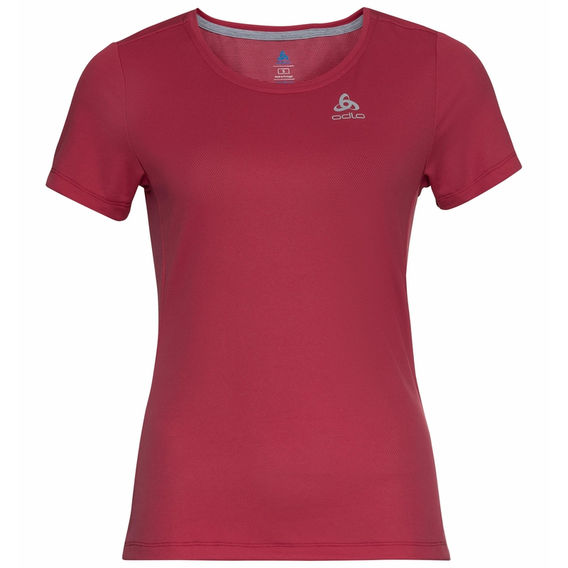 Women's F-DRY T-Shirt, deep claret, large