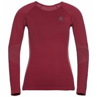 Sous-vêtement technique T-shirt manches longues PERFORMANCE Essentials WARM pour femme, rumba red - mesa rose, large