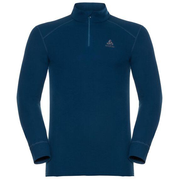 Shirt l/s turtle neck 1/2 zip ACTIVE ORIGINALS Warm, poseidon, large