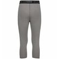 Men's ACTIVE THERMIC 3/4 Baselayer Bottoms, grey melange, large
