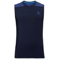 BL Top Crew neck s/l CERAMICOOL, diving navy - sodalite blue, large