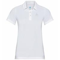 Women's TINA Polo Shirt, white, large