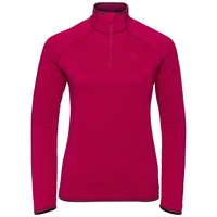 Women's CARVE CERAMIWARM 1/2 Zip Midlayer, cerise, large