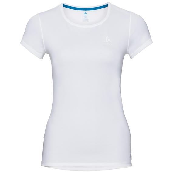 SUW TOP Shirt met ronde hals s/s ACTIVE F-DRY LIGHT, white, large