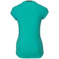 BL TOP Crew neck s/s Ceramicool pro Print, pool green, large