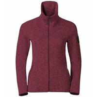Midlayer LUCMA X, rumba red melange, large