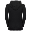 ACTIVE WARM KIDS Long-Sleeve Base Layer Top with Face Mask, black, large