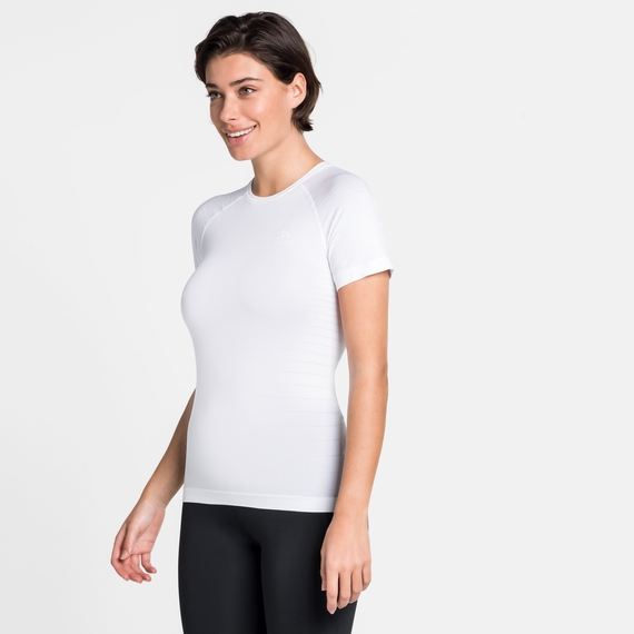 Damen PERFORMANCE LIGHT Baselayer T-Shirt, white, large