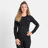 Women's ACTIVE WARM ECO Long-Sleeve Baselayer Top, black, large