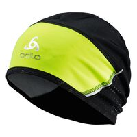 Hat windstopper® REFLECTIVE, safety yellow - black, large