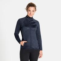 Women's CORVIGLIA KINSHIP EM Midlayer Top, diving navy melange, large
