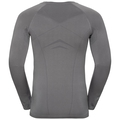 Men's PERFORMANCE EVOLUTION WARM Long-Sleeve Base Layer Top, odlo steel grey - odlo graphite grey, large