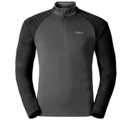 Midlayer 1/2 zip PACT, odlo graphite grey - black, large
