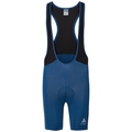 Men's ELEMENT Short Cycling Tights with Suspenders, poseidon - black, large