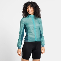 Women's ZEROWEIGHT DUAL DRY Cycling Jacket, jaded - balsam, large