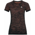 Women's BLACKCOMB CERAMICOOL T-Shirt, black - space dye, large
