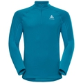 Midlayer 1/2 zip ZEROWEIGHT Warm, blue jewel, large