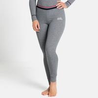 Women's ACTIVE WARM ORIGINALS ECO Base Layer Bottoms, grey melange, large