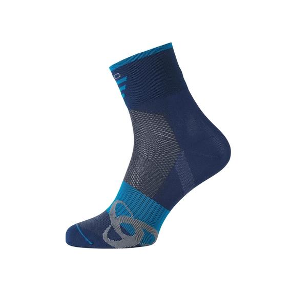 Socks short MID Light, poseidon - blue jewel, large