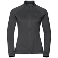 Midlayer full zip PROITA, odlo graphite grey, large