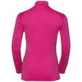 Damen STEEZE Midlayer mit 1/2 Reißverschluss, beetroot purple, large