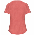 BL TOP Crew neck s/s MILLENNIUM ELEMENT Special, hot coral melange - placed print SS19, large