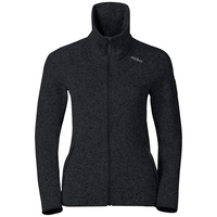 Midlayer full zip LUCMA X, black, large