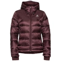 Gevoerde COCOON N-THERMIC X-WARM-jas voor dames, decadent chocolate, large