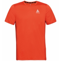 Men's ELEMENT Running T-Shirt, mandarin red, large