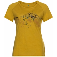 T-shirt Concord Summit Print., nugget gold, large