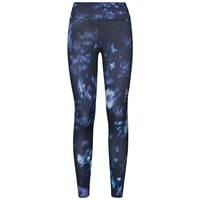 Women's ELEMENT LIGHT AOP Tights, diving navy - flower AOP SS19, large