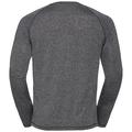 T-shirt l/s AION, black melange with print FW17, large
