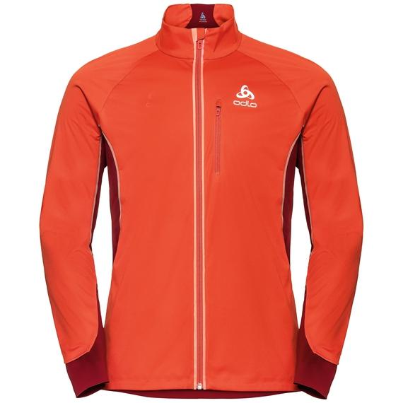 Men's ZEROWEIGHT PRO Jacket, poinciana - red dahlia, large
