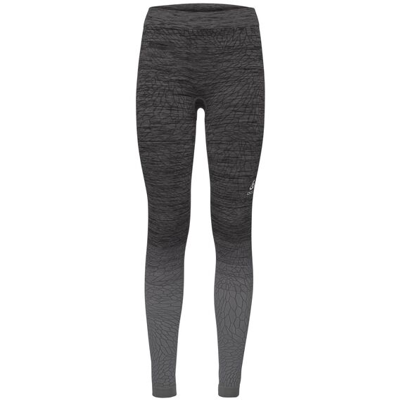 BL Bottom long MaIa, odlo steel grey - black, large