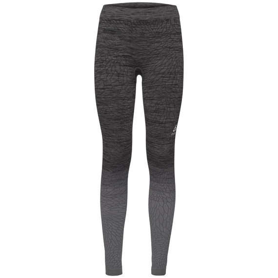 BL Bottom long MaIa, odlo steel grey - black, large