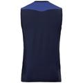 BL Top Crew neck s/l CERAMICOOL, diving navy - sodalite blue, large